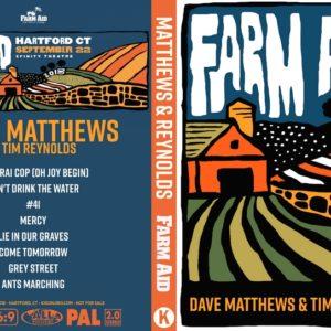 Dave Matthews & Tim Reynolds 2018-09-22 Farm Aid 33 DVD