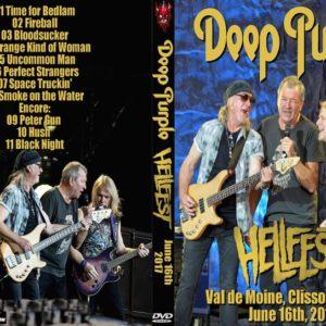 Deep Purple 2017-06-16 Hellfest, Clisson, France DVD