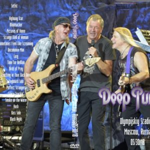 Deep Purple 2018-05-30 Olympijskiy Stadium, Moscow, Russia DVD