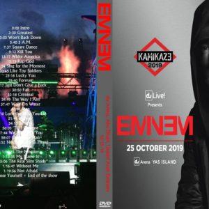 Eminem 2019-10-25 du Arena, Abu Dhabi, United Arab Emirates DVD