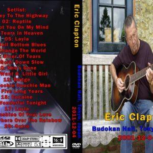Eric Clapton 2001-12-04 Budokan Hall, Tokyo, Japan DVD