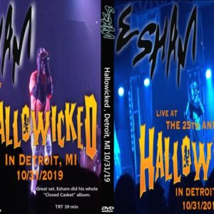 Esham 2019-10-31 Hallowicked, Detroit, MI DVD