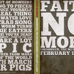 Faith No More 1990-02-13 Dynamo, Eindhoven, The Netherlands DVD