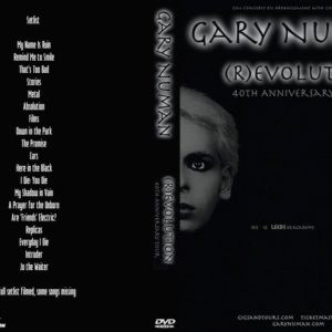Gary Numan 2019-10-12 (R)evolution 40th anniversary tour, O2 Academy Leeds, Leeds, England DVD