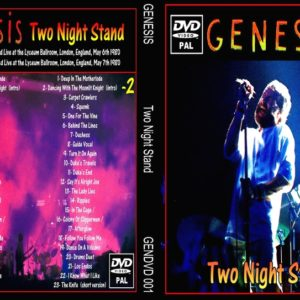 Genesis 1980 Two Night Stand 2 DVD