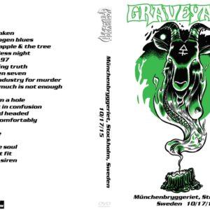 Graveyard 2015-10-15 Munchenbryggeriet, Stockholm, Sweden DVD