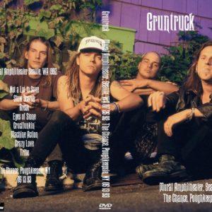 Gruntruck 1992-07-25 Mural Amphitheater, Seattle, WA + 1993-05-13 The Chance, Poughkeepsie, NY DVD