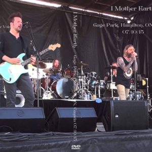 I Mother Earth 2015-07-10 Gage Park, Hamilton, ON, Canada DVD