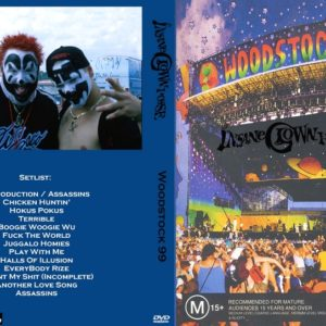 Insane Clown Posse 1999-07-23 Woodstock 99, Rome, NY DVD