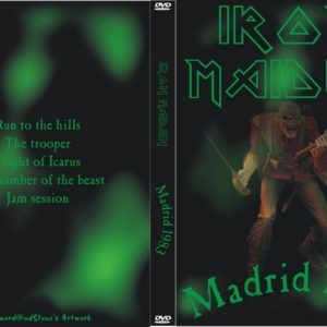 Iron Maiden 1983-11-24 Toccada Studio, Madrid, Spain DVD