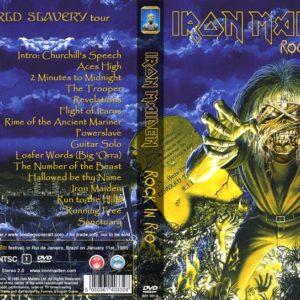 Iron Maiden 1985-01-11 Rock In Rio, Rio De Janeiro, Brazil DVD