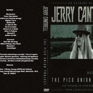Jerry Cantrell 2019-12-07 Pico Union Project, Los Angeles, CA DVD