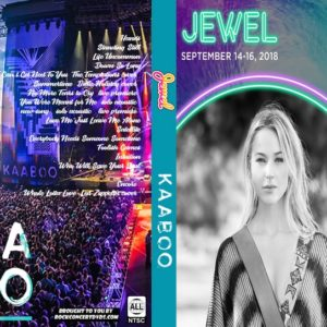 Jewel 2018-09-16 KAABOO, Del Mar, CA DVD
