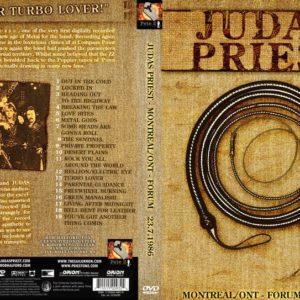 Judas Priest 1986-07-23 Montreal, Canada DVD