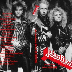 Judas Priest 1986-08-09 Joe Louis Arena, Detroit, MI DVD