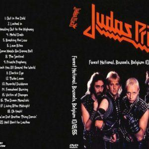 Judas Priest 1986-10-18 Forest National, Brussels, Belgium DVD