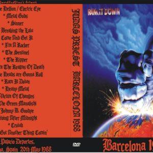 Judas Priest 1988-05-20 Palacio De Los Deportes, Barcelona, Spain DVD
