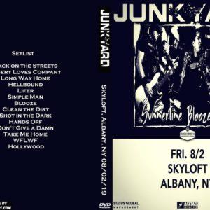 Junkyard 2019-08-02 Skyloft, Albany, NY DVD
