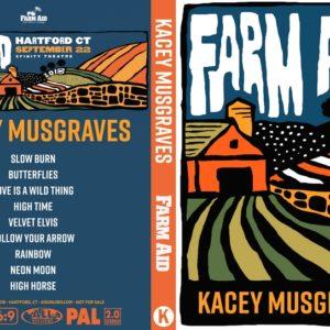 Kacey Musgraves 2018-09-22 Farm Aid 33 DVD
