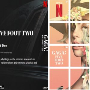 Lady Gaga Five Foot Two DVD