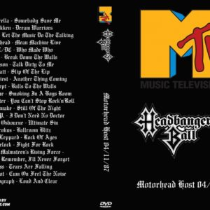 MTV Headbangers Ball 1987-04-11 Motorhead Host DVD