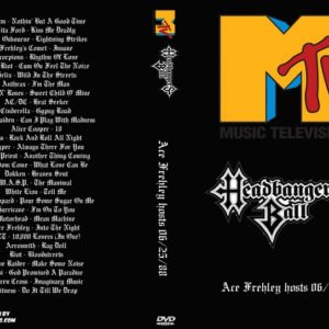 MTV Headbangers Ball 1988-06-25 Ace Frehley hosts DVD