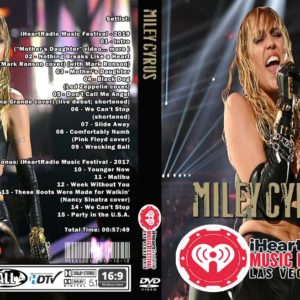 Miley Cyrus 2019-09-21 iHeartradio Music Festival, T-Mobile Arena, Las Vegas, NV DVD