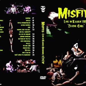 Misfits 1997-04-24 Essen, Germany DVD