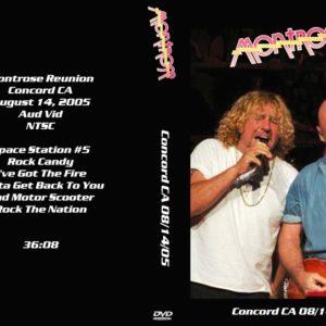 Montrose 2005-08-14 Concord CA DVD