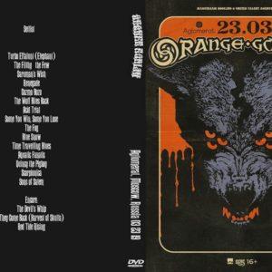 Orange Goblin 2019-03-23 Aglomerat, Moscow, Russia DVD