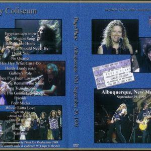 Page Plant 1995-09-29 Albuquerque, New Mexico DVD