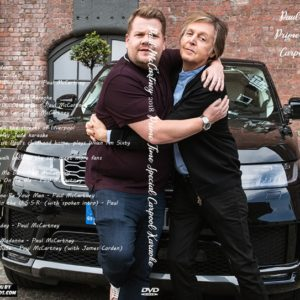 Paul McCartney 2018 Prime Time Special Carpool Karaoke DVD
