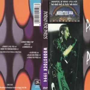 Porno For Pyros 1994-08-14 Woodstock, NY DVD