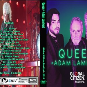Queen + Adam Lambert 2019-09-28 Global Citizen Festival, New York, NY DVD