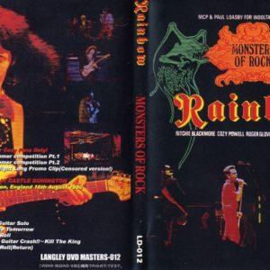 Rainbow 1980-08-16 Monsters Of Rock, Castle Donnington, UK DVD