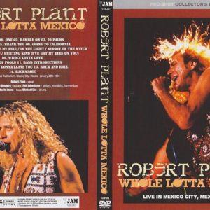 Robert Plant 1994-01-28 Auditorio Nacional, Mexico City, Mexico DVD