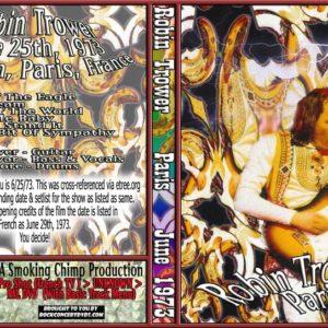 Robin Trower 1973-06-29 Paris, France DVD