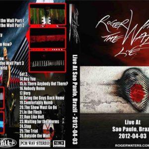 Roger Waters 2012-04-03 Sao Paulo, Brazil 2 DVD
