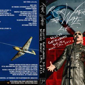 Roger Waters 2013-08-17 Gothenburg, Sweden 2 DVD