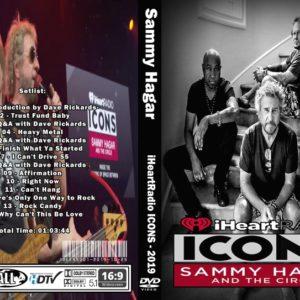 Sammy Hagar & The Circle 2019-05-08 iHeartRadio Theater LA, Burbank, CA DVD