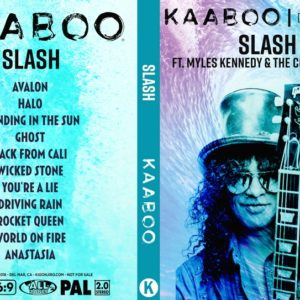 Slash ft. Myles Kennedy & the Conspirators 2018-09-16 KAABOO, Del Mar, CA DVD