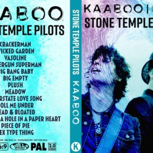 Stone Temple Pilots 2018-09-15 KAABOO, Del Mar, CA DVD