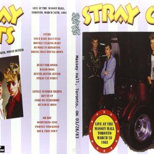 Stray Cats 1983-03-28 Massey Hall, Toronto, ON DVD