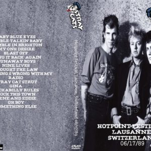 Stray Cats 1989-06-17 Hotpoint Festival, Lausanne, Switzerland DVD