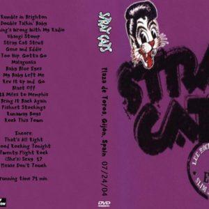 Stray Cats 2004-07-24 Plaza de Toros, Gijon, Spain DVD
