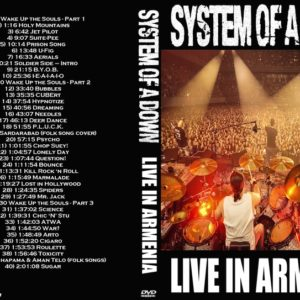System of a Down 2015 Live in Armenia DVD