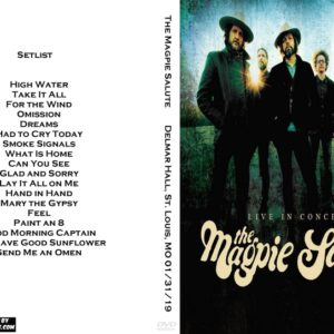 The Magpie Salute 2019-01-31 Delmar Hall, St. Louis, MO DVD