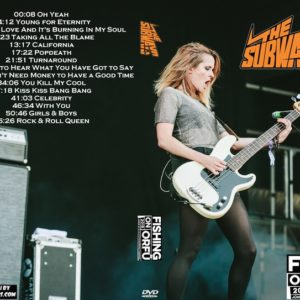 The Subways 2018-06-23 Fishing on Orfu, Hungary DVD