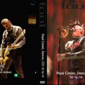 Tool 2019-10-16 Pepsi Center, Denver, CO DVD