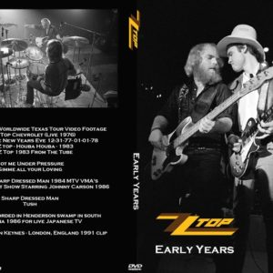 ZZ Top Early Years DVD